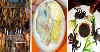"""13 странных блюд, которые в некоторых странах считаются  """"деликатесами"""""""