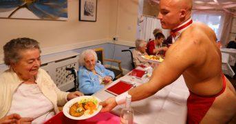 Женщины из дома престарелых заказали себе стриптизеров