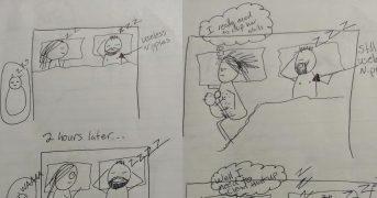 Забавные рисунки кормящей мамы покоряют интернет