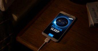 Не заряжайте свой телефон пока спите