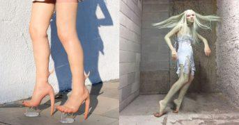 Кожанные каблуки в тон вашей кожи за 10.000$