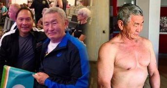 Пенсионер из Якутии победил на ЧМ по пауэрлифтингу