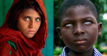 Как выглядят люди с самыми красивыми глазами в мире: фотоподборка