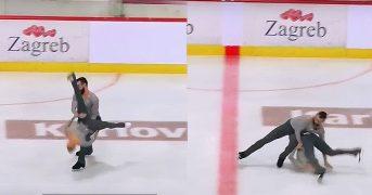 Американский фигурист ударил партнершу головой об лёд