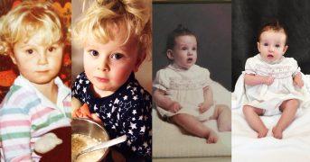13 фото детей которые очень похожи на своих мам
