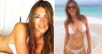 51-летняя Элизабет Херли показала свои фото бикини в Инстаграме